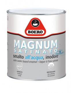Smalto all'acqua MAGNUM SATINATO Boero