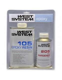 West System Resina 105 + Indurente Veloce 205
